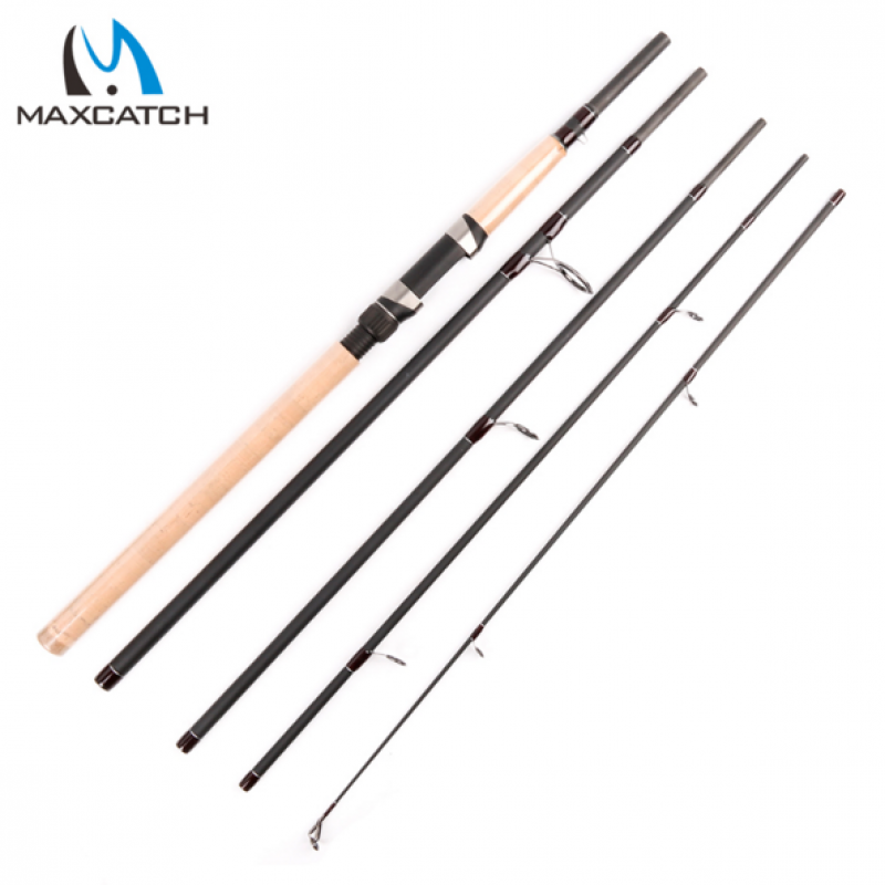 9FT 5PCS Lure 10-30g Travel Spinning Fishing Pole Portable Fishing Rod For Lure Fishing