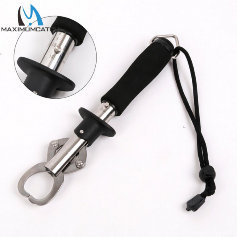 Stainless Steel Fish Control Grip Gripper Fishing Pliers Hook Cutter Fishing Tool