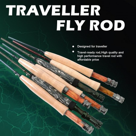 PORTABLE FLY RODS
