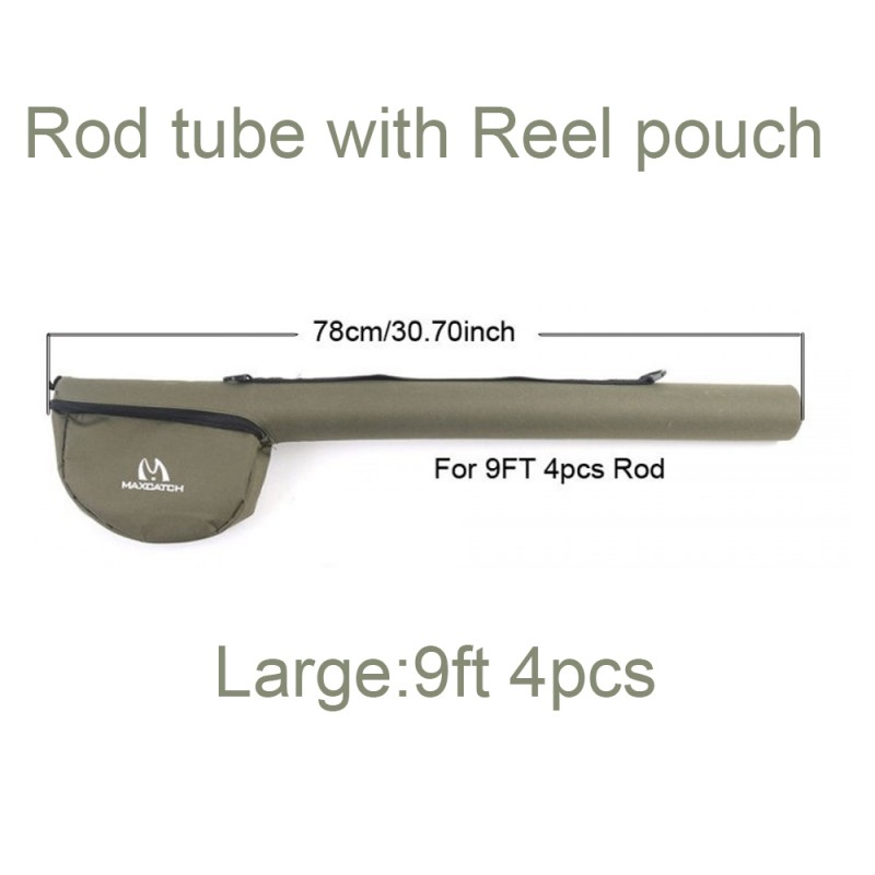 Tube with Reel Pouch 9ft 4pcs (Large) +$2.00