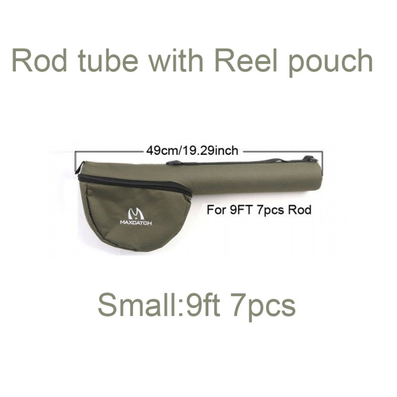 Tube with Reel Pouch 9ft 7pcs (Small) +$1.00