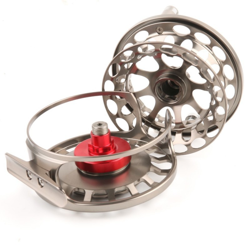 VX(Spare Spool) 9/10 WT Fly Reel 100% Waterproof Large Arbor Saltwater CNC