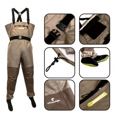 FISHING WADERS & JACKETS