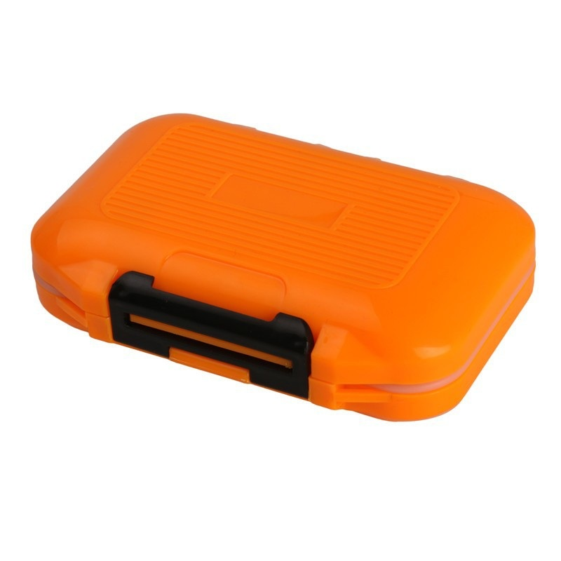 Waterproof Fly Fishing Box Plastic 12 Compartments Waterproof Fly Box Fishing Tackle Box