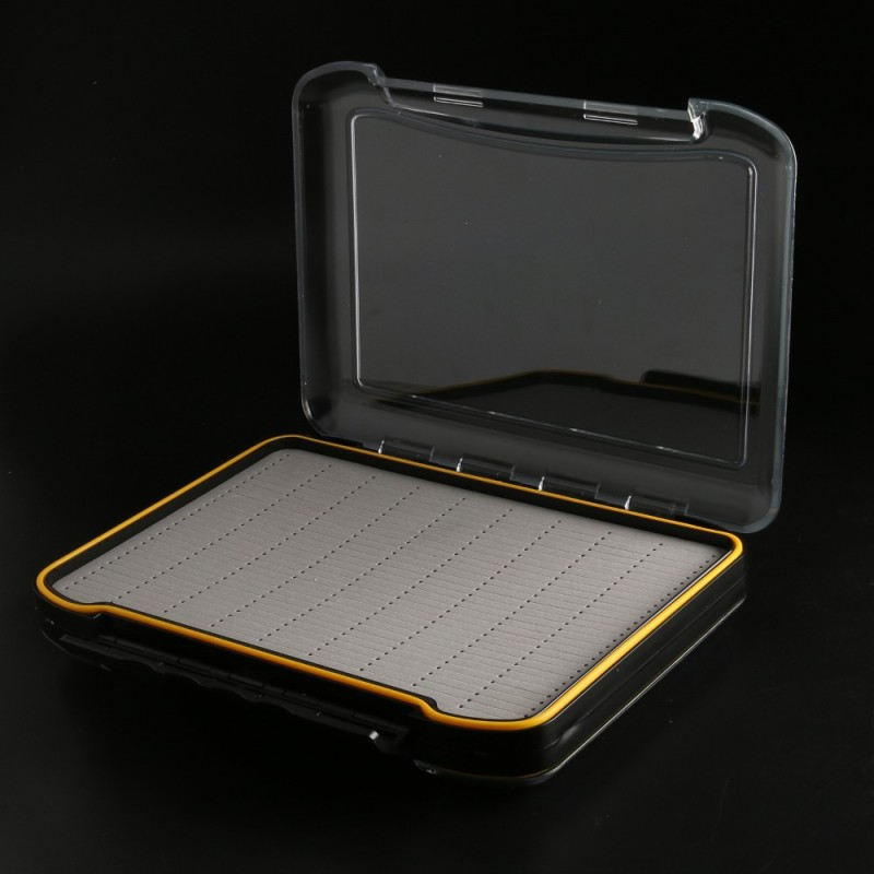 Suitcase Waterproof Easy Grip Foam Fly Fishing Box--296*210*50mm