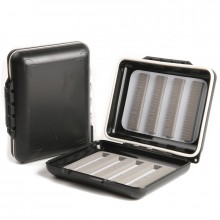 MH Fly Fishing Box Waterproof Plastic With Slit Foam Fly Box Fly Fishing Box