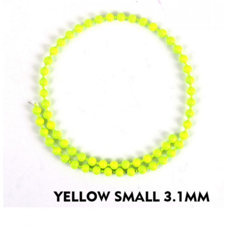 yellow small 3.1mm