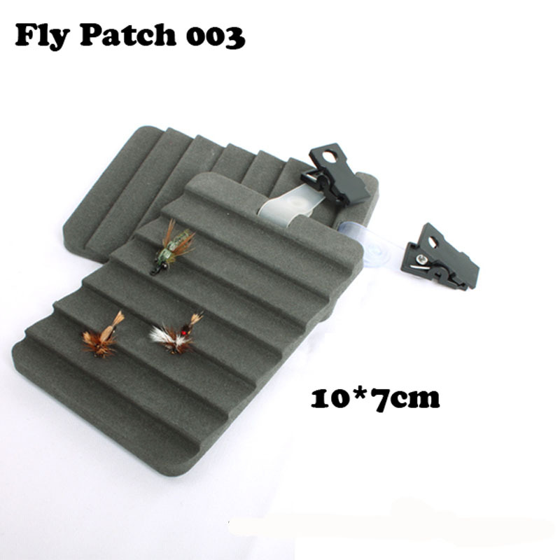 Ripple Foam Fly Patch Fly Tool(2 Pieces 10cm*7cm)