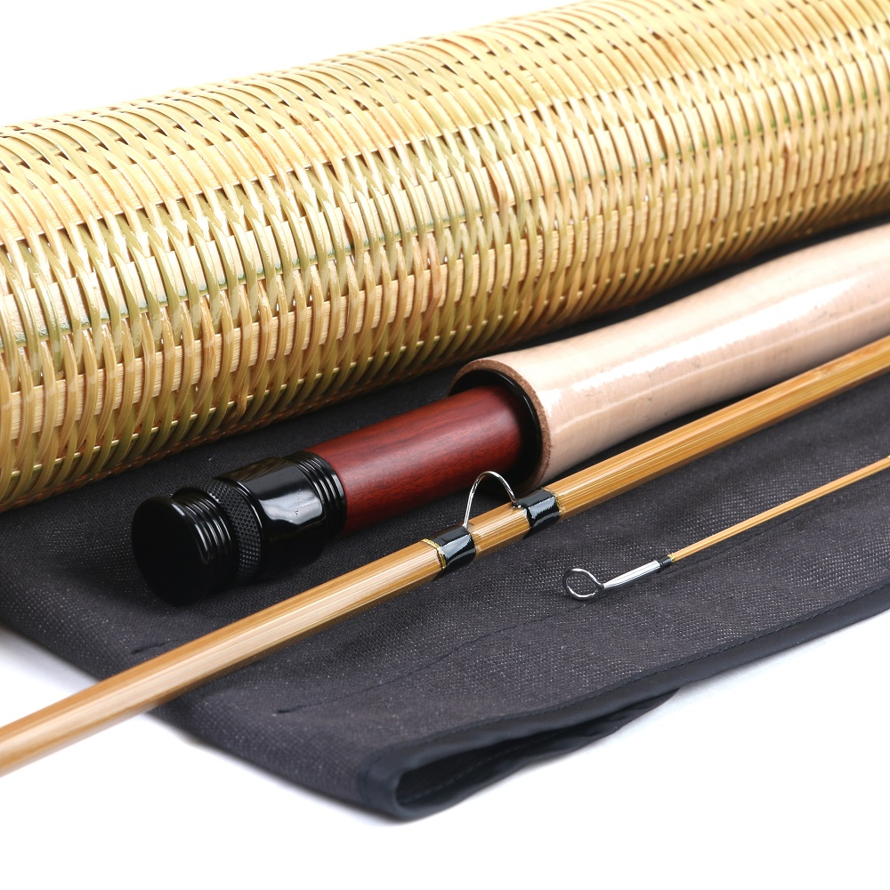 Unique in the world Bamboo fly rod Hedden 125#