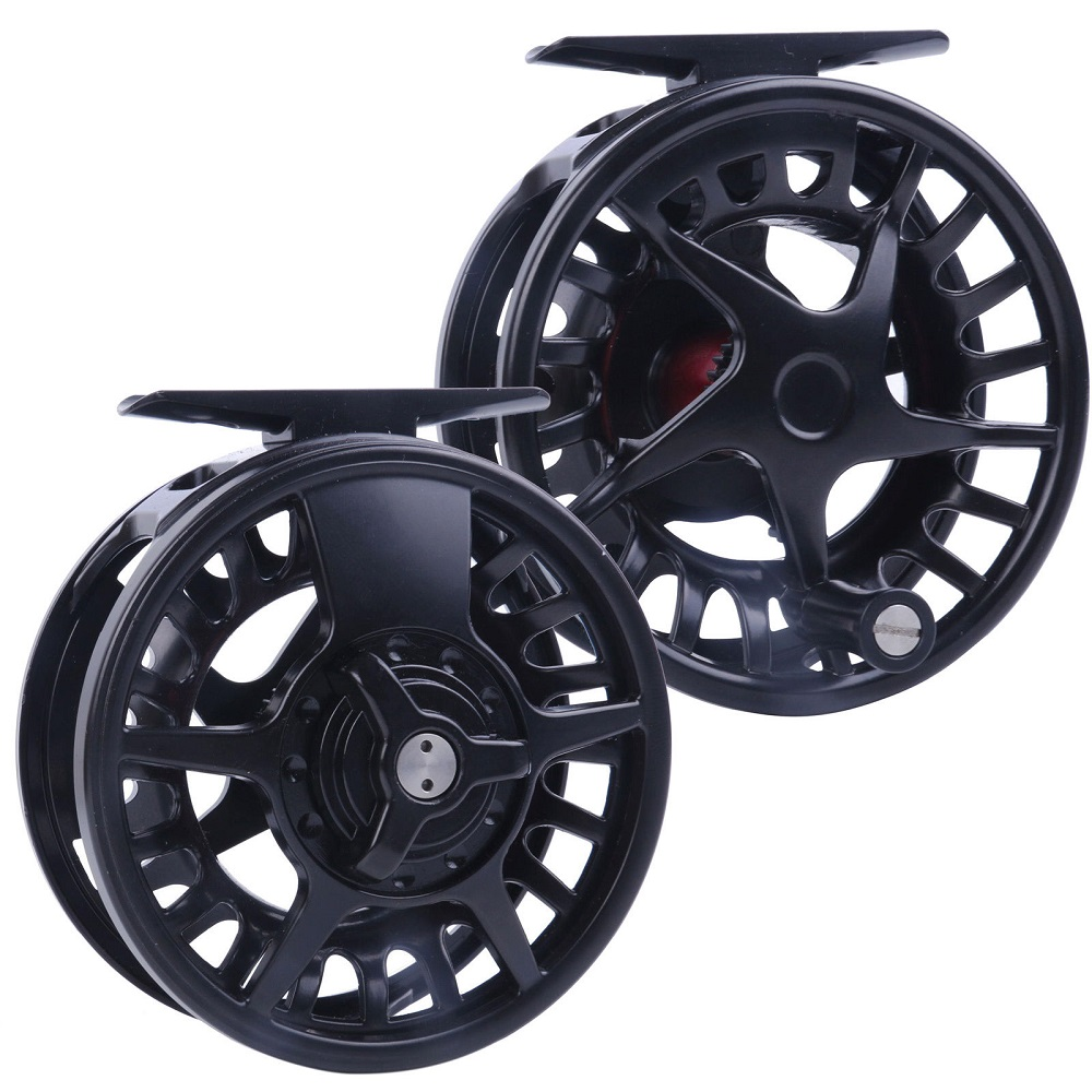 DX Black Right&Left-handed Fly Fishing Reel 5/6 7/8WT