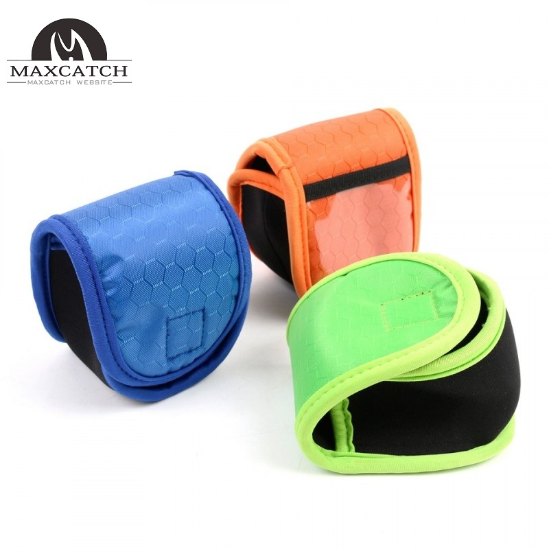 2pcs/lot Neoprene Fly Reel Bag Protective Fly Reel Pouch Covers For 2/3/4/5/6 WT Fly Reel