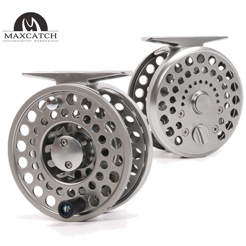 New Clicker and Pawl Trout Sliver Aluminum Classic Trout Fly Fishing Reel