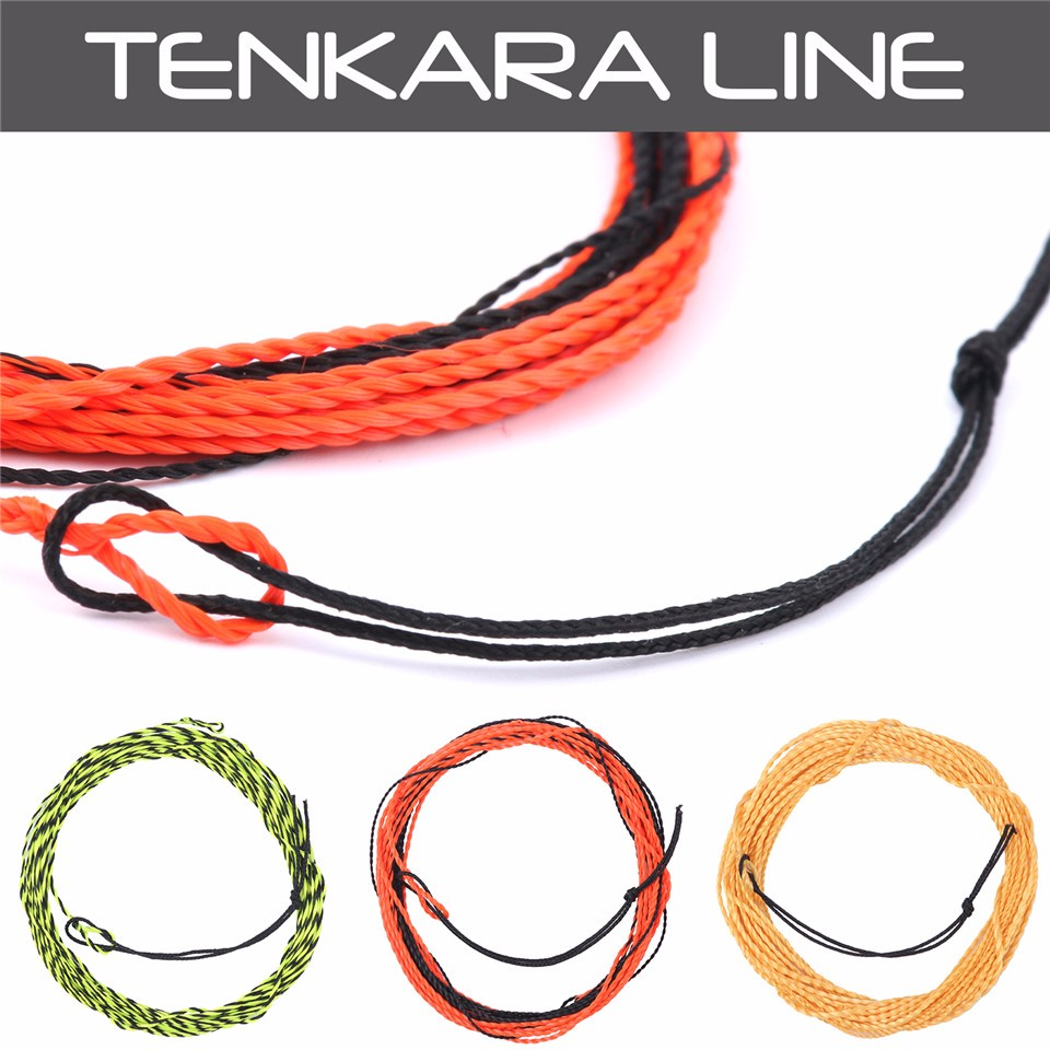 Tenkara Braided Nylon Fly Fishing Line & Furled Leader