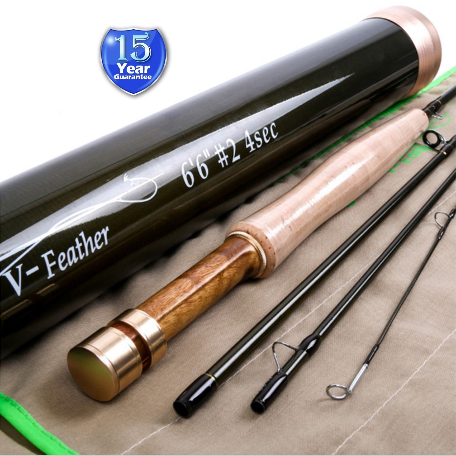Crystal Black Rod Tube 3/4Pieces IM10 & Carbon Fiber Rod Tube <Lifetime Warranty>