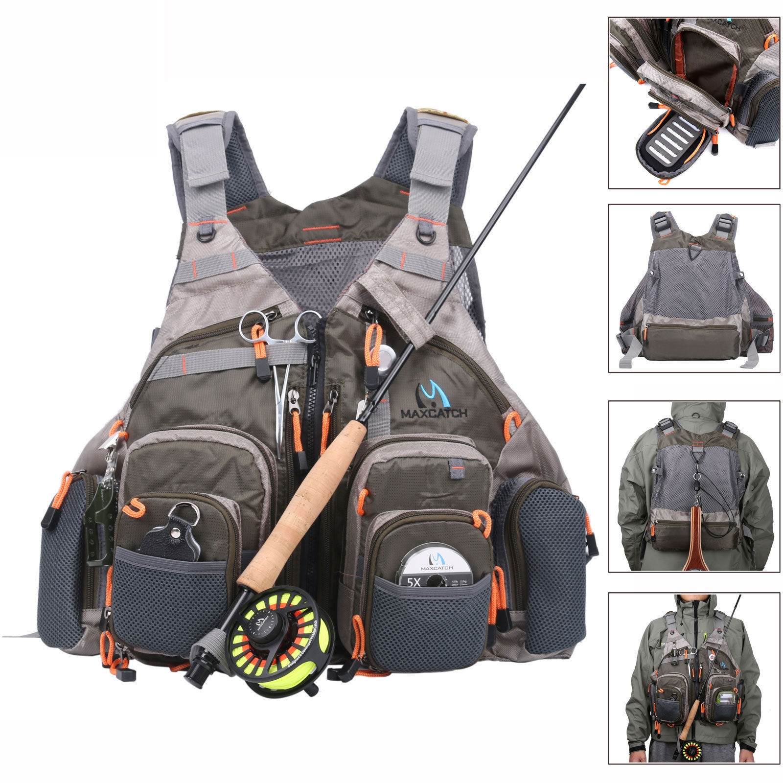 Top Quality Mesh Fly Fishing Vest