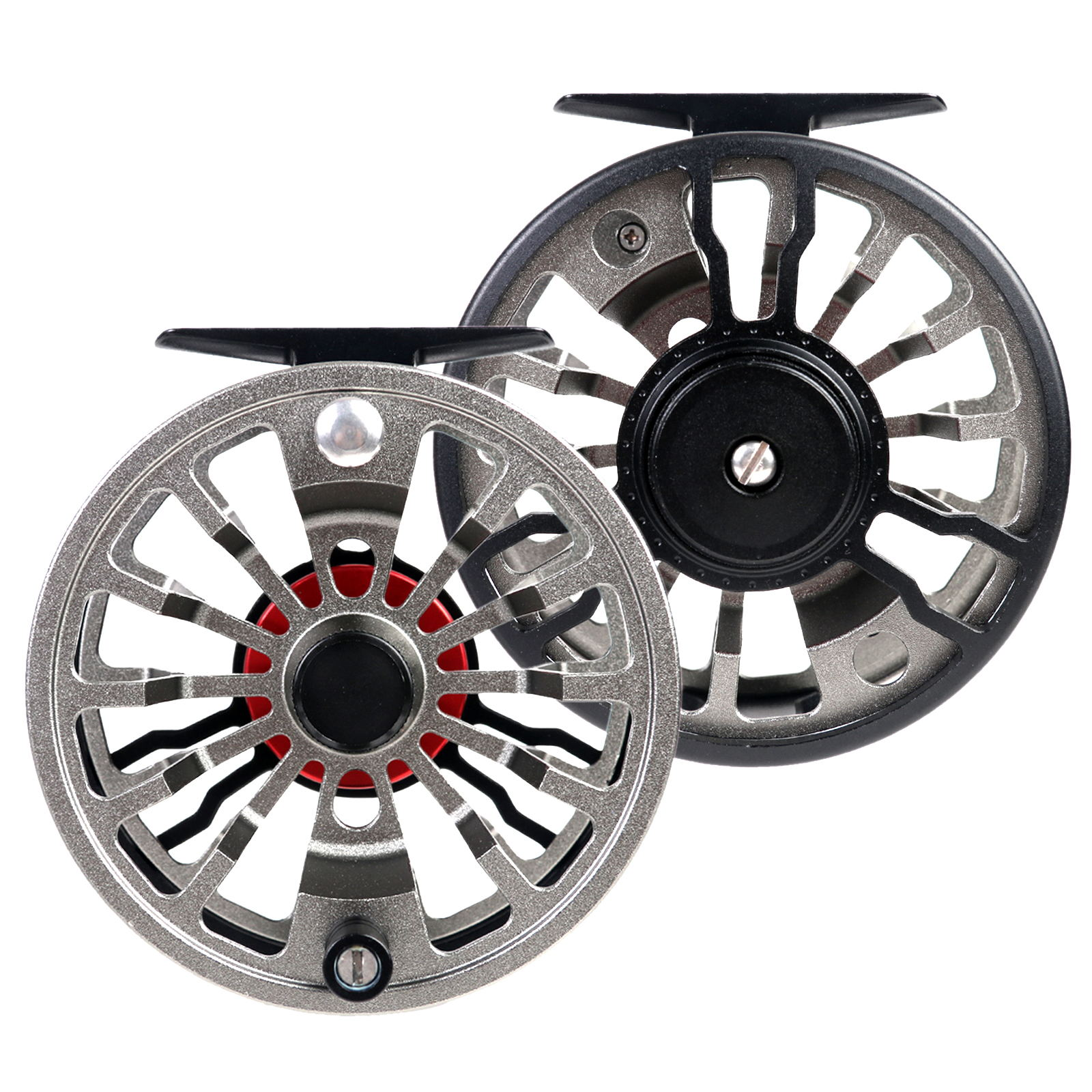 X-Ceed Fly Fishing Reel 3/4/5/6/7/8WT CNC Machined Aluminium Alloy Fly Reel Right Left Handed Reel and Spool