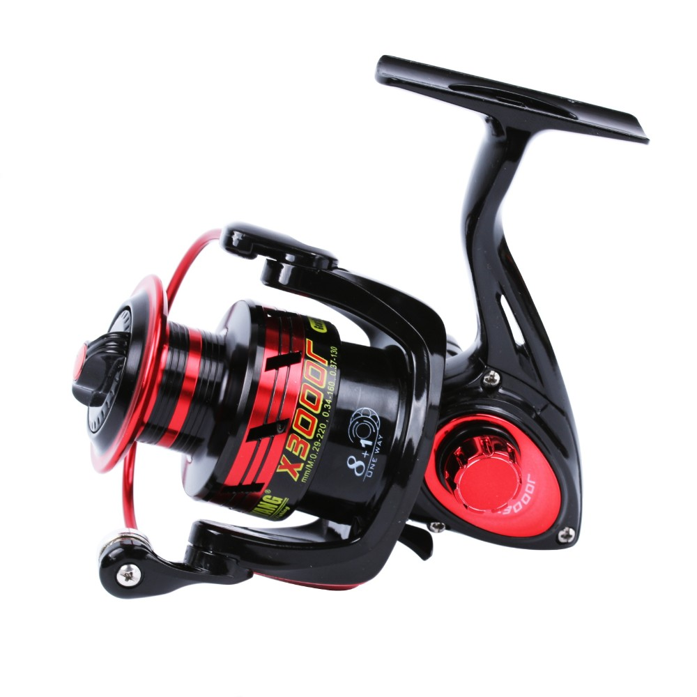 X2000-6000 Series Spinning Reel Super Light Graphite Body Max Drag 12KG Carp Fishing Reel